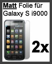 2x Samsung Galaxy S 1 i9000 Matt Displayfolie Displayschutz *Top Qualität* Folie
