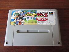 DRAGON BALL Z  SUPER GOKUU     - SHVC-AZ5J-JPN     -- pour SUPER FAMICOM  / JAP.
