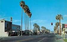 Hemet California Harvard Avenue Vintage Postcard J57842
