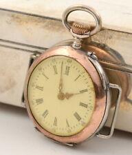 Taschenuhr Armbanduhr 800 er Silber 10 Rubis Zylinder 3,1 cm pocket watch silver