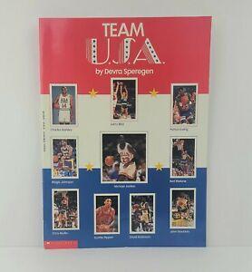 1992 Dream Team USA Scholastic Magazine with Pull Out Poster Jordan Barkley Bird