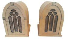 Classic Vintage Radio Handmade Wooden Bookshelf Speakers Tested !