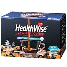 HealthWise Low Acid Swiss Water Decaf K Cups, 144 count, Keurig 2.0 Compatible,