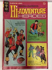 Hanna Barbera Hi Aventure Héros #1 Bande Dessinée Gold Key 1969