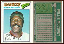 1977 Topps #547 Willie McCovey Card VG/EX MLB Giants Baseball HOF