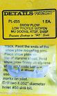 Details West HO 255 Snow Plow Low Profile w/Open MU Doors, ATSF, BNSF Casting