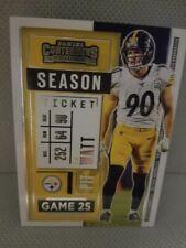 2020 panini contenders football season ticket # 18 TJ Watt Game 25 Free Shipping