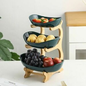Plastic Storage Container for Fruit Plate Living Room Garden Home Decoration