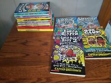 Lot of 14CAPTAIN UNDERPANTS DIAPER BABY Dav Pilkey Chapter Books