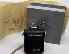 Pedometer USSR Zarya Mechanical Medic Sport documents box Vintage Pedometer