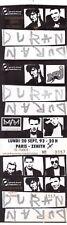 ticket billet unused stub place concert DURAN DURAN 1994 PARIS