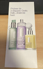 NEW - Clinique 3 Steps To A Shining Skin Sample Set 3x 1,5ml For Dry Skin