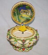 Disney Snow White and the Seven Dwarfs Music Box Princess Jewelry Brahm's Waltz