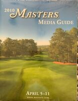 2010 OFFICIAL MASTERS GOLF TOURNAMENT JOURNAL PROGRAM MEDIA GUIDE MICKELSON WOOD