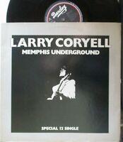 "LARRY CORYELL ~ Memphis Underground ~ 12"" Single PS"