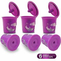 6 Pack My K-Cup Reusable Replacement Coffee Filter Refillable Holder for Keurig