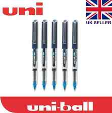 Uni-Ball Eye UB-150 Micro Rollerball Pen (Pack of 5 Blue Ink )