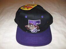 Looney Tunes Tasmanian Devil Vintage Snapback Hat Cap W/Tags Mens One Size TAZ