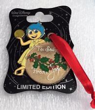 WDI 2015 Holiday Gift Tag Pin - Joy Le 250 Disney Pin