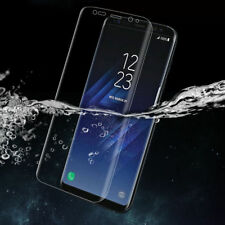 [12x Pieces] Clear Full Coverage TPU Screen Protector Film for Samsung Galaxy S8
