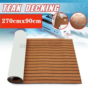 90×270cm EVA Boat Flooring Marine Teak Decking For Yacht Carpet  AU