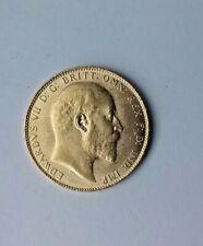 1910 Great Britain Gold Sovereign (.2354 oz) - Edward VII AU