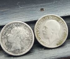 More details for victoria and georgev six pence
