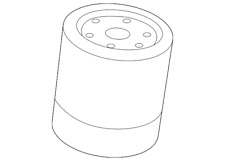 Genuine Land-Rover Oil Filter LR096524