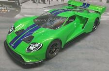 Custom Painted Body FORD GT (Pearl) for 1/10 RC Drift Cars Touring HPI 200mm