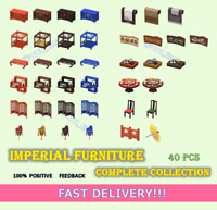 Imperial Furniture Complete Collection 40 Pcs FASTEST!!!
