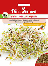 4080 Dürr BIO Keimsprossen Alfalfa ca.55g Samen Herb frischer Geschmack Seeds