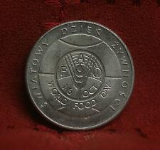 Poland 50 Zlotych 1981 World Coin Imperial Eagle F.A.O. World Food Day