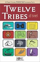 Twelve Tribes of Israel by Rose Publishing ( Pamphlet – July 14, 2014  ) b