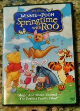 Winnie the Pooh - Springtime with Roo (DVD, 2004)