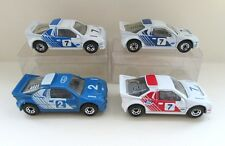 4x Matchbox Superfast 34d Ford RS200 Rally Car - All Different Variations/Colour