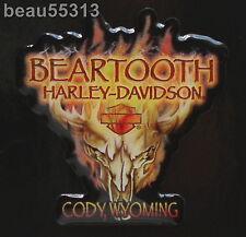 BEARTOOTH CODY WYOMING HARLEY DAVIDSON DEALER DEALERSHIP VEST JACKET PIN