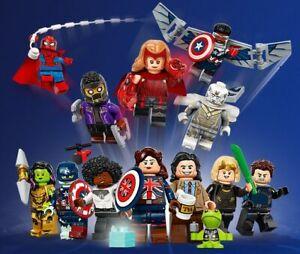 LEGO MARVEL Studios Minifigures 71031 Wanda Vision, Zombie Spider-Man Blind Bags