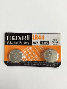 Maxell LR44 Battery (A76/AG13)1.5V Alkaline Batteries Sending fr Melb