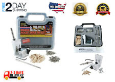 Pro Pocket Hole Jig Kit 850 EZ Tool System Woodworking Screw Drill Heavy Duty