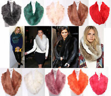 Unbranded Faux Fur Patternless Scarves & Shawls for Women