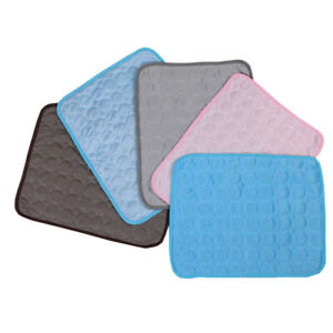 Pet Cooling Mat Cool Gel Pad Comfortable Cushion Bed for Summer Dog Cat Puppy