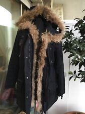 Manteaux et vestes noirs en fourrure pour femme | Achetez