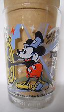 2002 McDonald's 100 Years of Disney Glass-Mickey-Pluto-Snow White-Donald