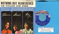 Supremes - Nothing But Heartaches Vinyl 45 rpm record PS Free Ship