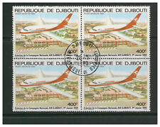 REPUBLIQUE DE DJIBOUTI 1980 AIR FOUNDATION AIR DJIBOUTI BLOCK 4 VERY FINE USED