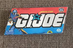 GI Joe 25th Anniversary Cobra Set Commander, Storm Shadow, Destro, Baroness