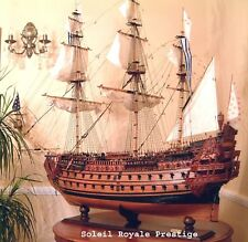 SALE Prestige Museum quality ship model Soleil Royale 160cm- MAGNIFICENT