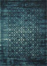 5'x7' Loloi Rug Journey 50% Wool Viscose Indigo Blue Power Loomed Transitional J