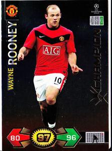 Champions League Super Strikes 09/10 Wayne Rooney Manchester United Champion