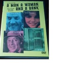 A MAN A WOMAN AND A BANK DONALD SUTHERLAND AUTHENTIC ANCHOR BAY DVD RARE OOP